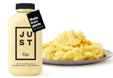 달걀 4천만개 분량을 대체한 저스트에그